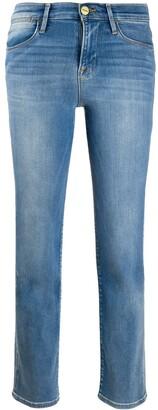 Frame Slim Faded Jeans