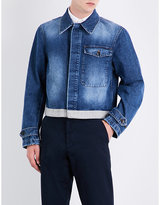 Dries Van Noten Vesper Cropped Denim Jacket