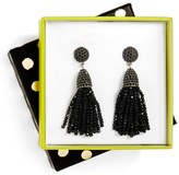 BaubleBar Women's Annabelle Boxed Mini Tassel Drop Earrings