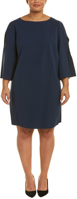 Lafayette 148 New York Plus Candace Shift Dress