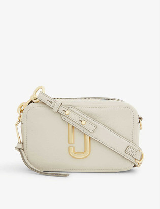 Marc Jacobs Softshot 21 leather cross-body bag