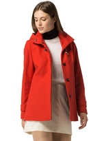 Tommy Hilfiger Wool Modern Toggle Coat