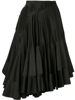 Junya Watanabe Comme Des Garçons Pre Owned Ruffle Skirt