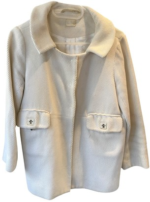 Anya Hindmarch White Cotton Coats