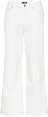 A.P.C. Sailor high-rise straight jeans