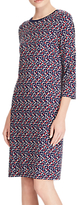 Lauren Ralph Lauren Edjarra Dress, Mini Geometric Multi