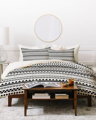 Deny Designs Allyson Johnson Aztec Pattern Duvet Cover Set