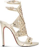 Carvela Goose metallic sandals