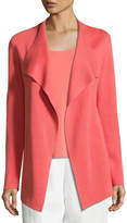 Eileen Fisher Open Interlock Jacket, Flora, Petite