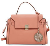 Guess Christy Pebbled Flap Satchel