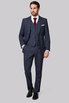 Savoy Taylors Guild Regular Fit Blue Check Suit