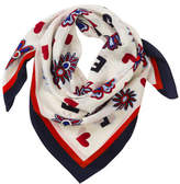 Tommy Hilfiger Silk Square Scarf