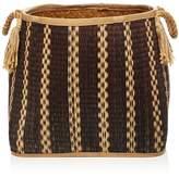 Britannica Sparrow x Wren Mesa Hand-Woven Seagrass Basket, Large - 100% Exclusive