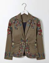 Boden Florence Embroidered Blazer
