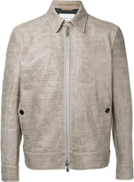 Cerruti crocodile effect jacket