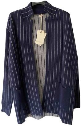 Henry Cotton Blue Wool Knitwear for Women