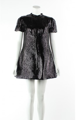 Louis Vuitton Black Viscose Dresses