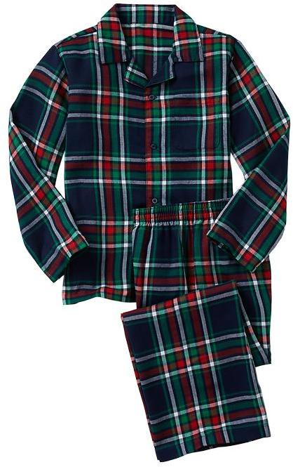 Gap Plaid classic PJ set