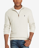 Polo Ralph Lauren Men's Big & Tall Half-Zip Sweater