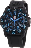 Luminox Men's Chronograph 3083 Blue Silicone Swiss Quartz Watch
