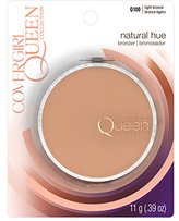 Cover Girl Queen Collection Natural Hue Mineral Bronzer Light Bronze .39 oz (10.5 g)