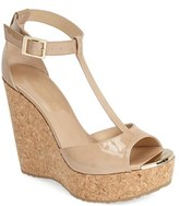 Jimmy Choo Women's 'Pela' Cork Wedge Sandal