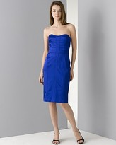 Women's Sweetheart Neckline Dress