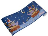 Kids Line Starry Night Coordinating Wall Border by Kids Line, Resembles Noah's Ark, 10 Yard Roll