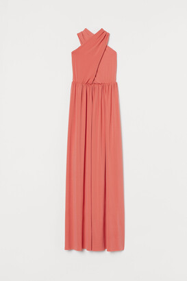 H&M Long Halterneck Dress