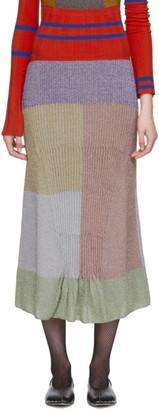 KIKO KOSTADINOV Multicolor Knit Lenina Skirt