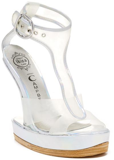 Jeffrey Campbell Incline Heel-Less Platform Sandal