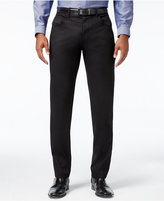 INC International Concepts Men's Deep Black Stretch Pants, Only at Macy's