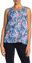 Tommy Bahama Tropical Floral Shell Tank