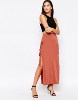 Love Skirt With Lace Up Sides
