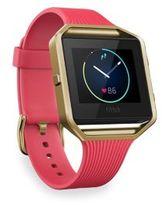 Fitbit Classic Blaze Large Goldtone Fitness Watch