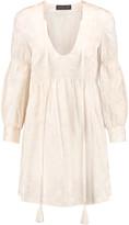 Rachel Zoe Chariot silk and cotton-blend jacquard mini dress