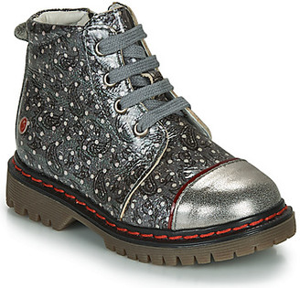 GBB NEVA girls's Mid Boots in Silver