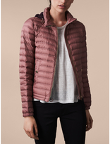 Burberry Hooded Lightweight Down-filled Puffer Jacket