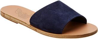 Ancient Greek Sandals Taygete Suede Slide