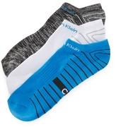 Calvin Klein Underwear 3 Pack Coolpass Low Cut Socks
