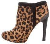 Fendi Ponyhair Ankle Boots