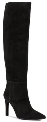 Geox Faviola Suede Knee High Boot