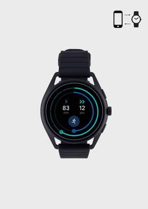 Emporio Armani Touchscreen Aluminium Smartwatch