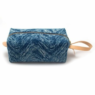 General Knot & Co Indigo Waves Block Print Travel Kit