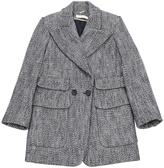 Chloé Navy Cotton Coat