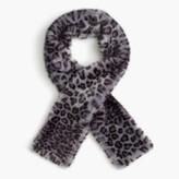 J.Crew Girls' leopard faux-fur stole