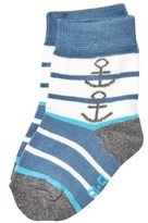 Melton Stellar Anchor Baby Socks