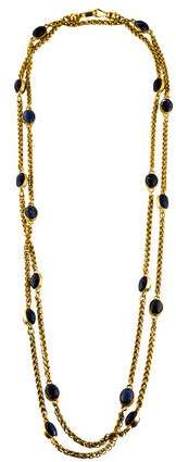 Chanel Sodalite Station Necklace