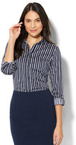 New York & Co. 7th Avenue - Madison Stretch Shirt - Dot Print