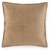 Ralph Lauren Leeds Suede Square Pillow